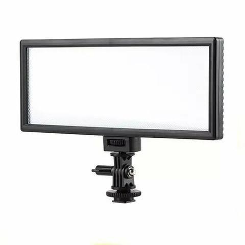 Led Iluminador Ultrawide Câmera Filmagem Video Dslr + Fonte