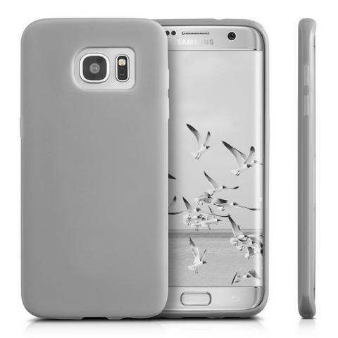 cheap for discount fd0df 8f894 Capa Protetora Silicone Cover + Screen Protector - Galaxy S7