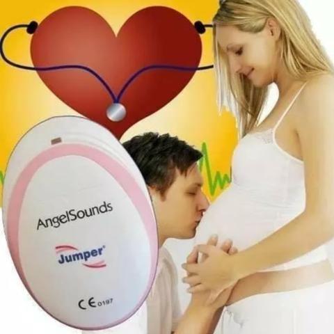Doppler Fetal - Grávida-Escuta Batidas Coração Bebê- Gestante NOVO