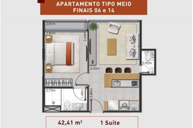 Prático e moderno - Apartamento 1 Quarto - LIV  - Foto 14
