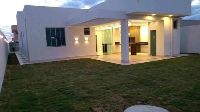 Samuel Pereira oferece: Casa Nova Moderna Sobradinho Alto da Boa Vista 3 suites - Foto 3