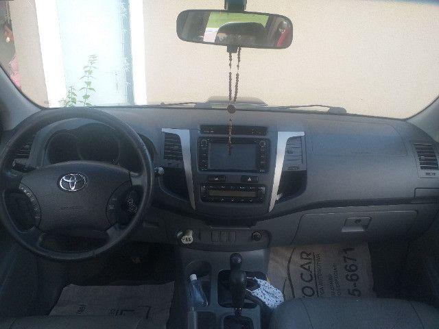 Hilux SRV Diesel Automática 4x4 2011 - Foto 6