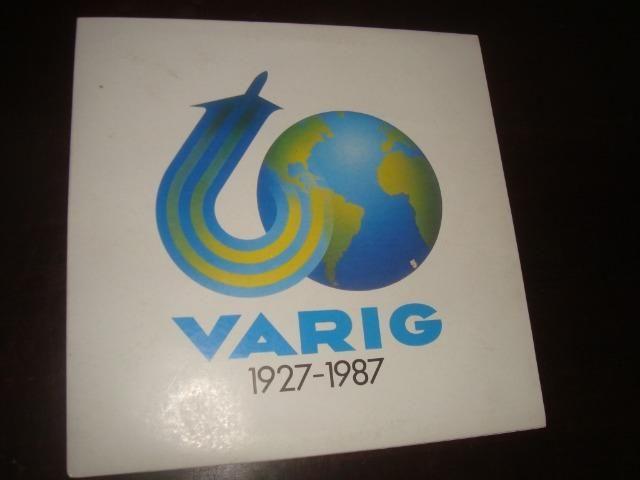 Varig, Lp, Picture Disc comemorativo - Foto 5