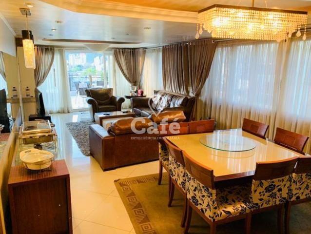Residencial Hermitage, Cobertura 4 dormitórios, elevador, 2 garagens