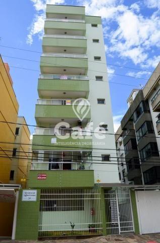 Apartamento à venda com 2 dormitórios em Nossa senhora de fátima, Santa maria cod:0541