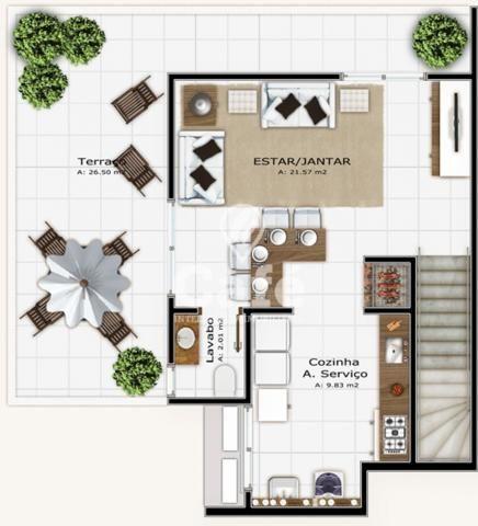 Apartamento à venda com 3 dormitórios em Nossa senhora das dores, Santa maria cod:1293 - Foto 6
