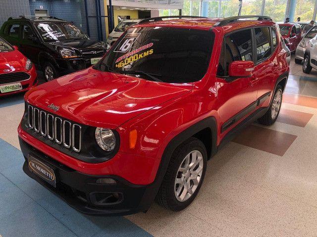 Jeep Renegade Longitude 1.8 Flex Automático 2016 * Baixa KM