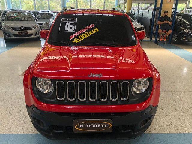 Jeep Renegade Longitude 1.8 Flex Automático 2016 * Baixa KM - Foto 2