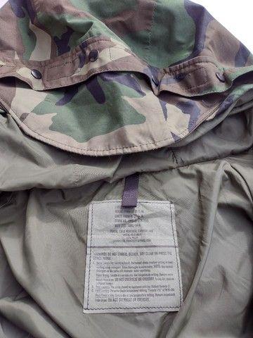 Jaqueta militar Goretex 100% impermeável - Foto 5