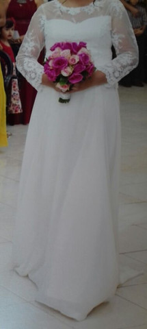 Vestido de noiva usado 1 vez só - Foto 2