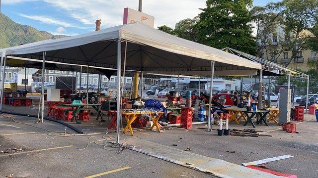 Barraca tenda  de 10  metros  - Foto 2