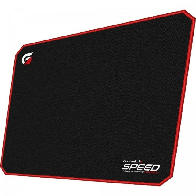 Mouse Pad G amer (440x350mm) Speed MPG102 Vermelho Fortrek  - Foto 2