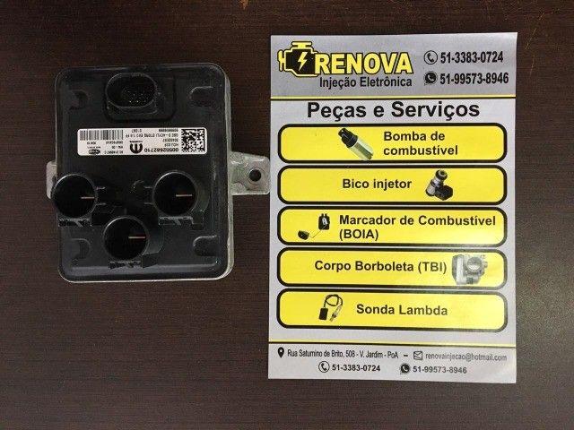 Módulo Do Eletro Ventilador Radiador Fiat Mobi 1.0