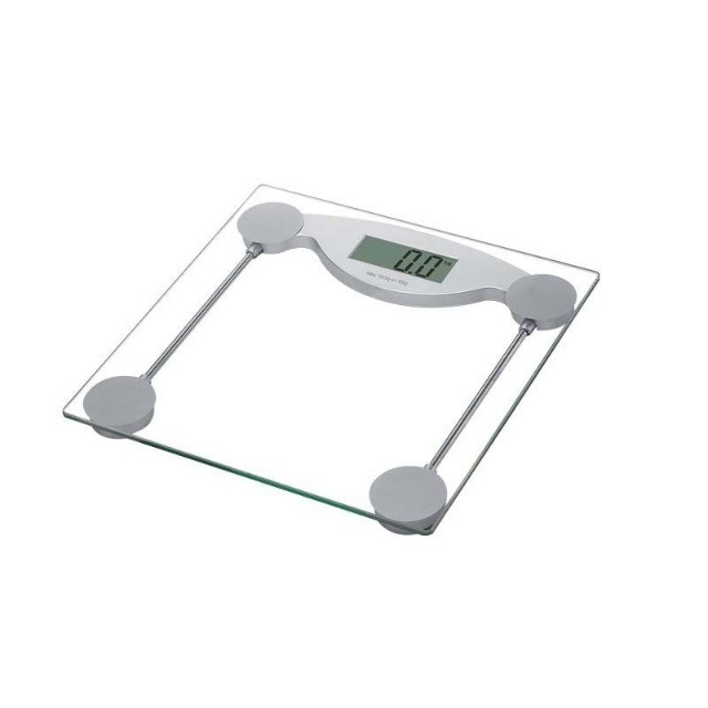 Balança Visor Digital P/ Banheiro Vidro Temperado 150Kg  - Foto 2