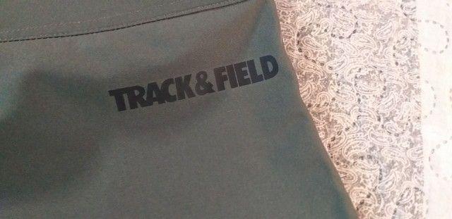 Linda bermuda elastano Track e Field tamanho 42.Nova! - Foto 5