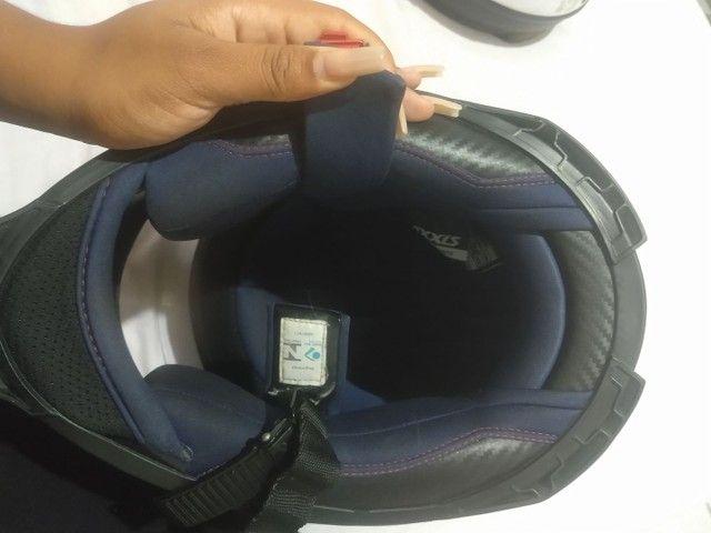 Vendo capacete semi novo - Foto 3