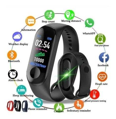 Relógio Smartwatch Inteligente Monitor Cardíaco  - Foto 2