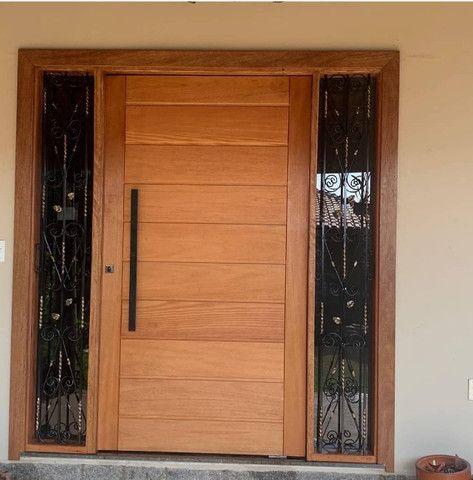 Painel Ripado, Batentes, pergolados, porta pivotante - Foto 6