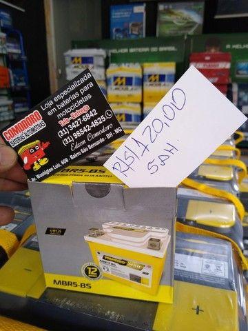 Imperdvell baterias a preço de fabrica 5,6,7AH fan,cg,xre,factor,fazer,biz,pcx,ybr,lead. - Foto 3