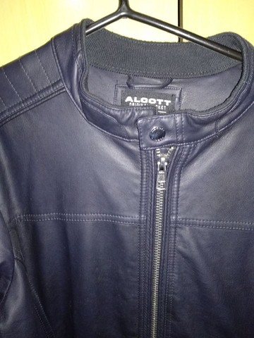 Jaqueta de couro Italiana Alcott(extra grande) - Foto 5