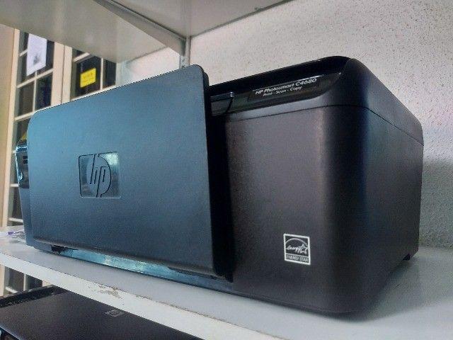 Impressora Multifuncional C4680 + Garantia + cartucho preto + A4