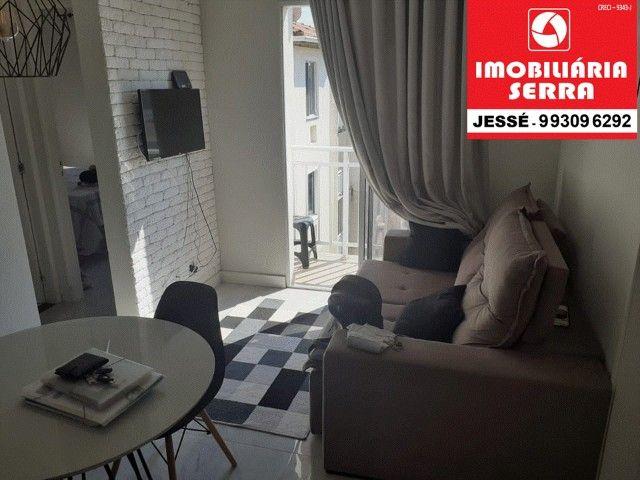 JES 004. Vendo apartamento mobiliado, 63M², 3 quartos. na Serra   - Foto 3