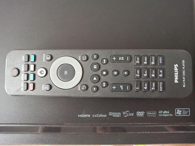 Blue-Ray Philips com controle - Foto 3