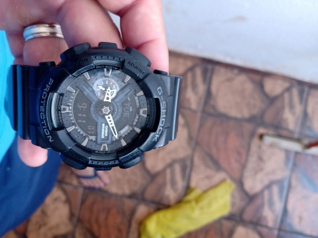 Relógio g shock original modelo ga 110 . - Foto 3
