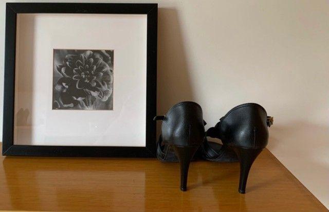 Sapato de couro Dafiti(preto)n°37!!! - Foto 3