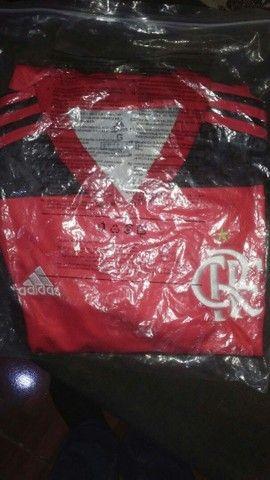Camisa do Flamengo G - R$ 150 reais - Foto 4