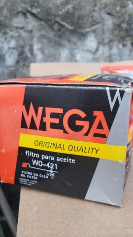 Filtro de óleo WO-421 WEGA ORIGINAL - Foto 4