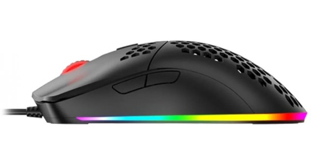 Mouse Gamer Havit Ms1023 6400dpi Rgb - Loja Natan Abreu  - Foto 3