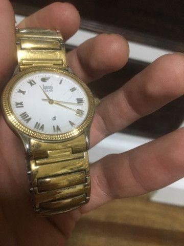 Relógio Dumont Feminino pulseira elástica