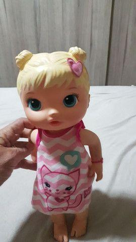 Boneca baby alive cuida de mim usada