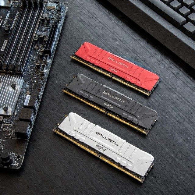Memória Crucial Ballistix 8GB, DDR4 3000Mhz, CL15, ou 12X R$ 27,65