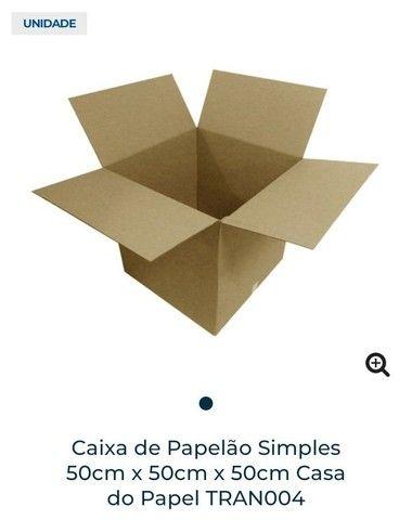 Caixa de papelão 50cm x 50cm