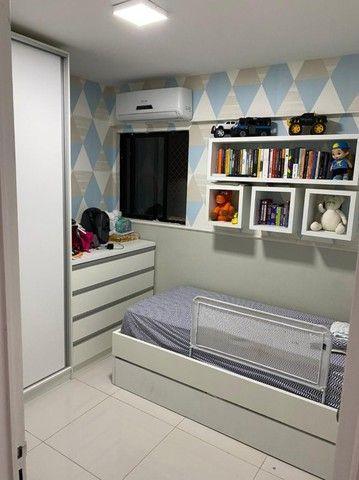 No Expedicionários, apartamento projetado e com ambientes climatizados! - Foto 5