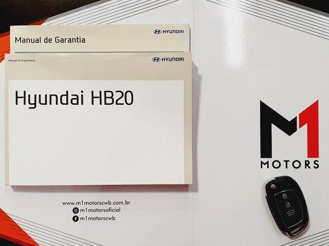 HYUNDAI HB20S PREMIUM 1.6 FLEX 4P AUTOMÁTICO 6M - 2019 - BRANCO - Foto 19