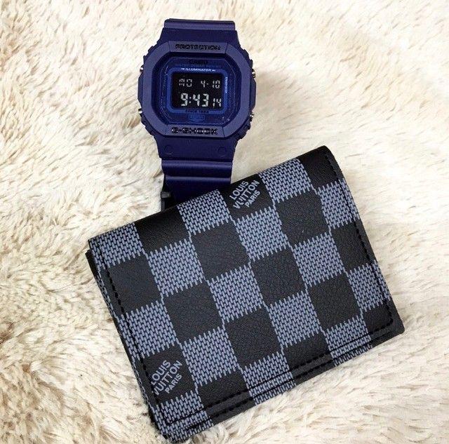 Kit relógio e carteira disponível  - Foto 6