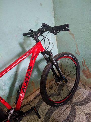 Bicicleta 29 Audax adx 100( Estado de nova) - Foto 6