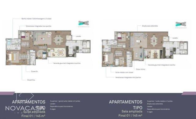 Apartamento com 4 dormitórios à venda, 145 m² por R$ 2.136.464,00 - Santo Antônio - Belo H - Foto 13