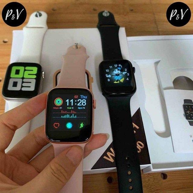 PROMOÇÃO: Relógio SmartWatch IWO MAX 2.0 - 12X No Cartão + Entrega Grátis