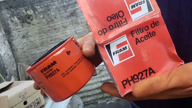 Filtro de óleo PH927A.  FRAM - Foto 4