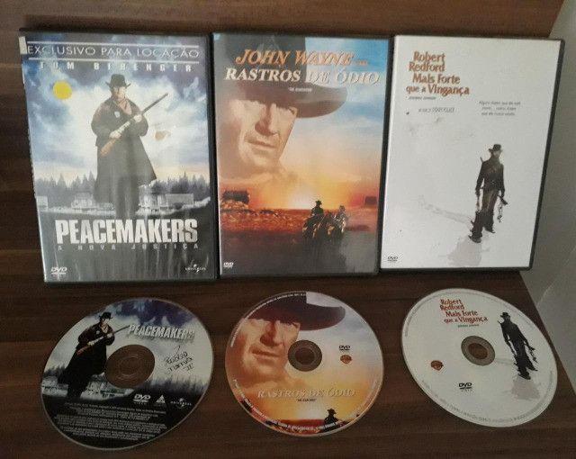 DVDs Rastros de Ódio, Peacemakes e Mais Forte que a Vingança
