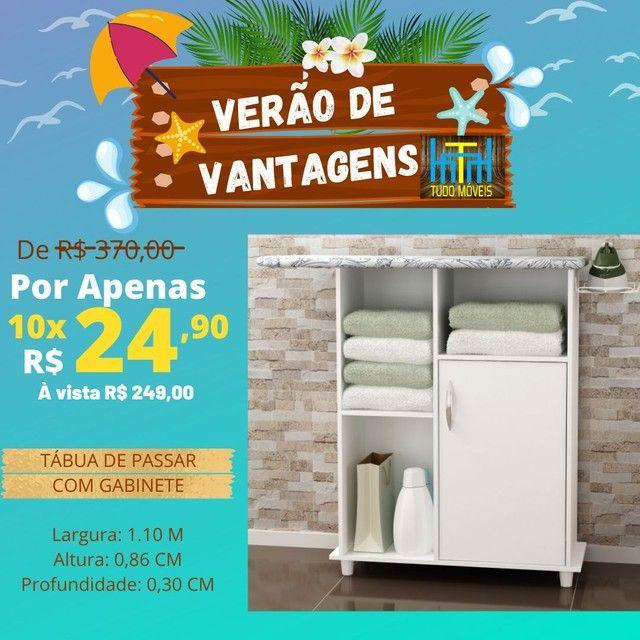 VERÃO DE VANTAGENS / Tábua de passar com armario
