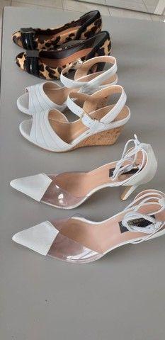 Lote de sapatos femininos 36/37 semi novos