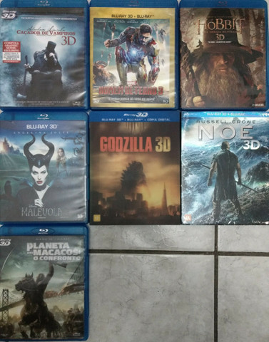 Blu-ray 3D + 2D (Dois discos) - Foto 3