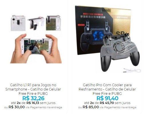 Controle para Celular - Gamepads e Gatilhos para seu Smartphone - Foto 4