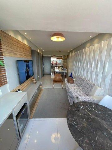 No Expedicionários, apartamento projetado e com ambientes climatizados! - Foto 2