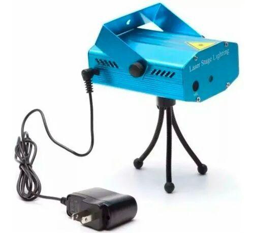 Mini Laser Stage Lighting Projetor Holográfico Tripé - Foto 3